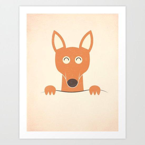 Pocket Kangaroo Art Print