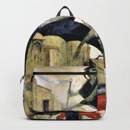 The Plague - Arnold Bocklin Backpack