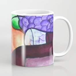 Fruits And Wine Still Life Painting By Saribelle Coffee Mug