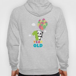 One Year old first Birthday Party T-Shirt Daydz Hoody