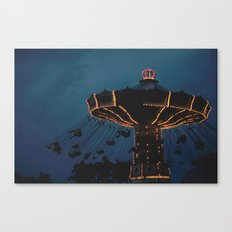 Flying Swings Canvas Print