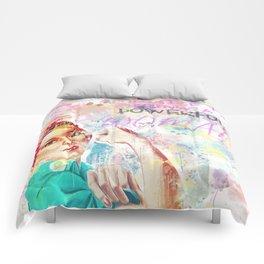 Never Be Weak Comforters