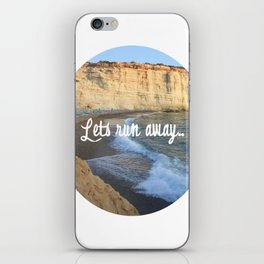 Let's Run Away iPhone Skin