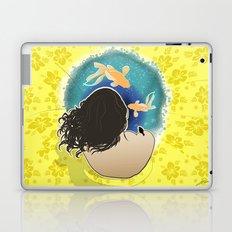 Holding water Laptop & iPad Skin