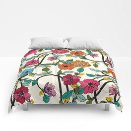 Fleurs Comforters