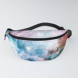 Carina Nebula : Colorful Galaxy Fanny Pack