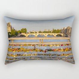 Love padlocks - Paris Rectangular Pillow