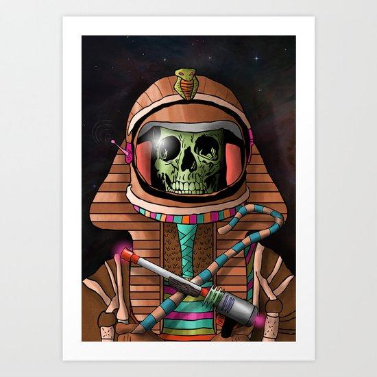 The Pharaoh's Ascension Art Print