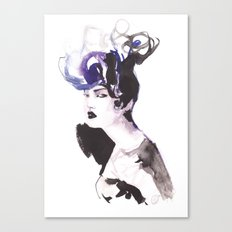 Hairstyle Canvas Print