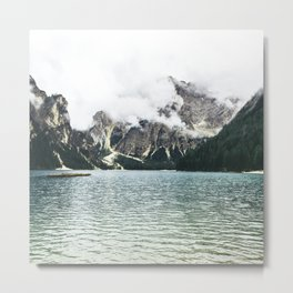 By the Sea to the Mountains Metal Print