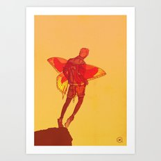 You Should Treat Your Muse Like A Fairy Art Print