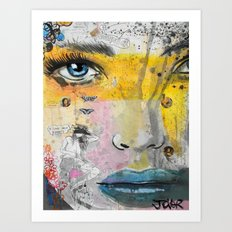I LOVE NOT KNOWING Art Print