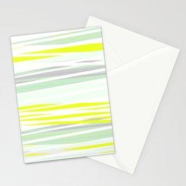 lemon grass / light Stationery Cards