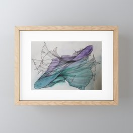 Twin Flames Framed Mini Art Print