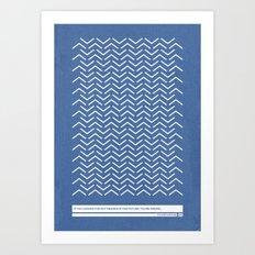 Nonsense 4 Art Print