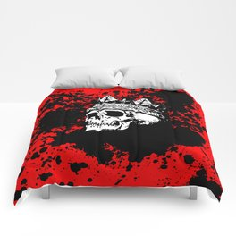 Skulking Skull King Comforters