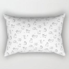 Playful kitties Rectangular Pillow