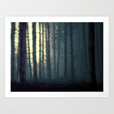 Waldeinsamkeit Art Print