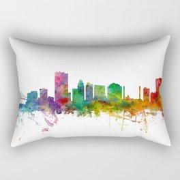 Toledo Ohio Skyline Rectangular Pillow