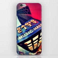Radio City  iPhone & iPod Skin