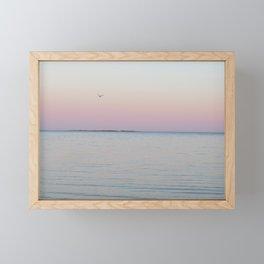Warm Thoughts Extending Beyond the Island Framed Mini Art Print