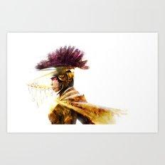 GOLDENLORD Art Print