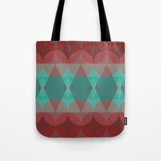 Red vs. Green Tote Bag