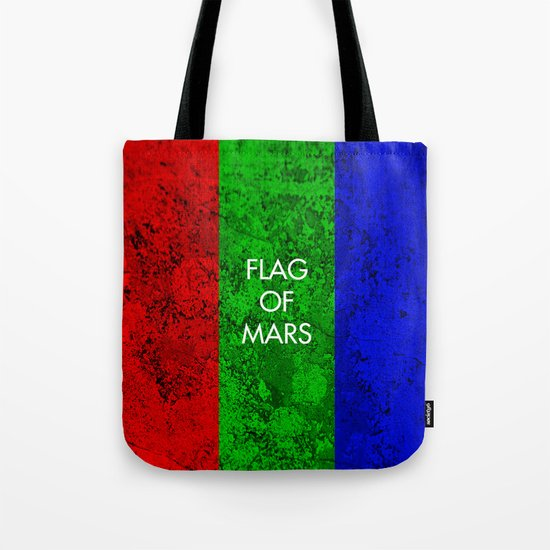 THE FLAG OF MARS Tote Bag