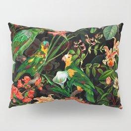 Vintage & Shabby Chic - Midnight Tropical Garden Pillow Sham