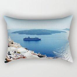 Santorini, Greece. Rectangular Pillow