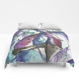Swooping Swift Sky Comforters