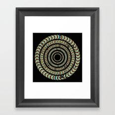 Slow Spin Framed Art Print