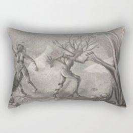 Women Transform'd to Trees Rectangular Pillow