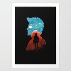 Nathan Drake Art Print