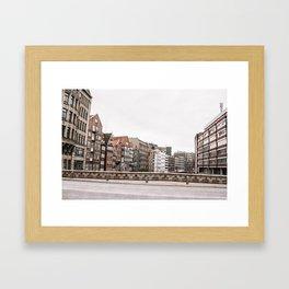 Speicherstadt Framed Art Print