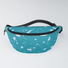 On Your Marks - Teal Fanny Pack