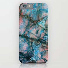 Pink and Blue Marble Slim Case iPhone 6