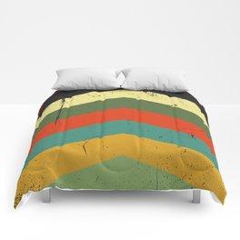 Grunge chevron Comforters