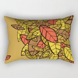 Autumn Memories (a pile of leaves) Rectangular Pillow