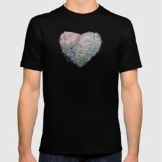Come Into the Wilds MEDIUM Black Mens Fitted Tee
