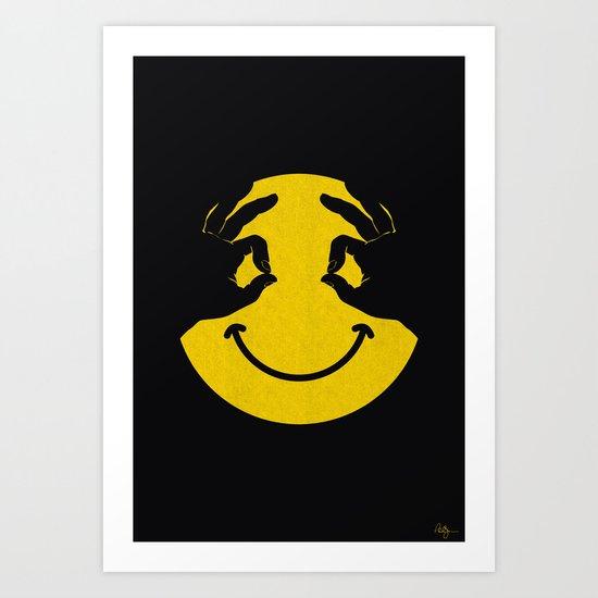 Make You Smile Art Print