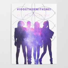 10GETHER WITH 2NE1 - Galaxy Version Poster