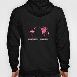 Funny Vodka Shirts Flamingo Liquor booze Gift Hoody