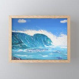 Wipe Out Framed Mini Art Print