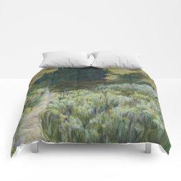 Boise Foothills no. 2 Comforters
