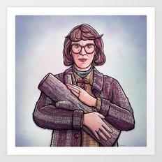 Log Lady Art Print