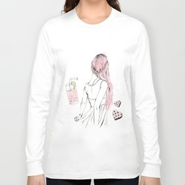 Pink Lemonade Days Long Sleeve T-shirt