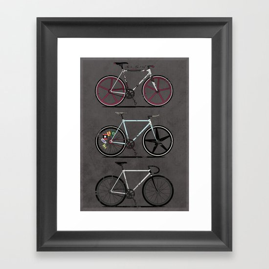 This Is How I Roll Framed Art Print