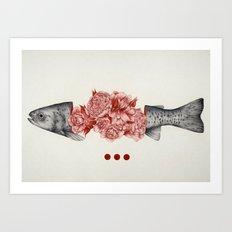 To Bloom Not Bleed II Art Print