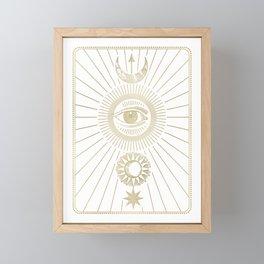 The Eye Framed Mini Art Print
